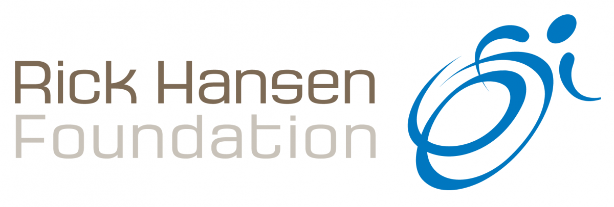 Rick Hansen Foundation  logo