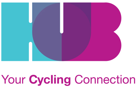 HUB Your Cycling Connection - logo