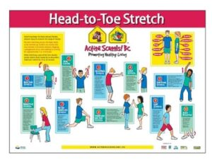Head-to-Toe Stretch Poster image