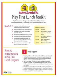 Play First Lunch Toolkit image