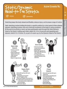 Static/Dynamic Head-to-Toe Stretch Activity Gr K-3 image