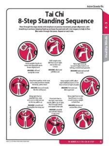 Tai Chi 8-Step Standing Sequence Activity All Grades image