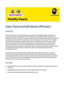Healthy Hearts Instructional Example image