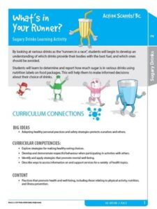 What's in Your Runner? Activity Gr 2 image