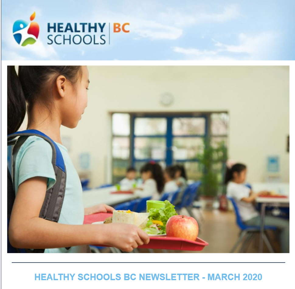 Don't Miss Out on Healthy Schools BC Newsletter