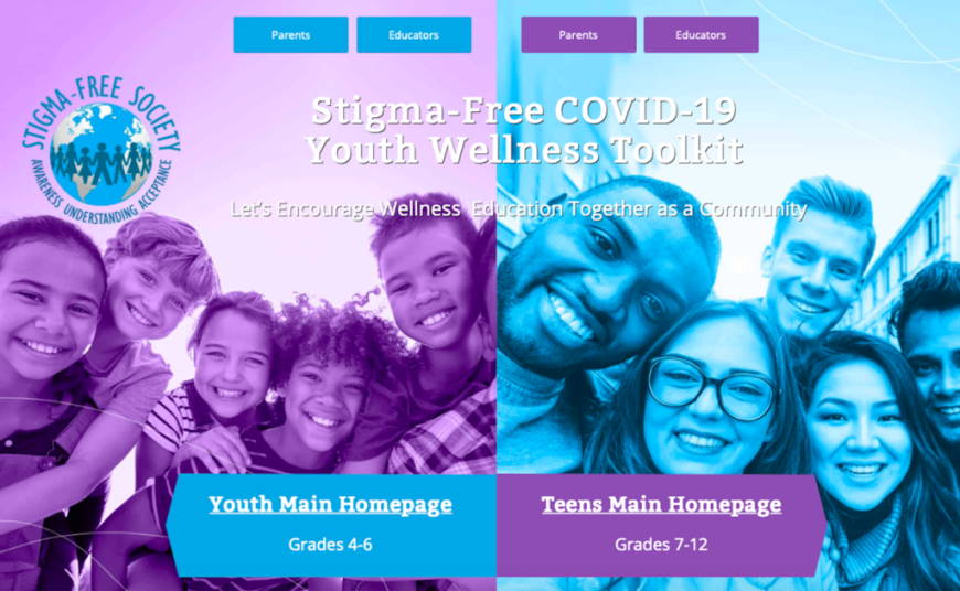 Stigma-Free COVID-19 Youth Wellness Toolkit