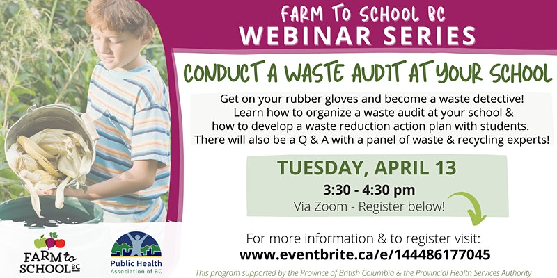 Conduct a Waste Audit at your School